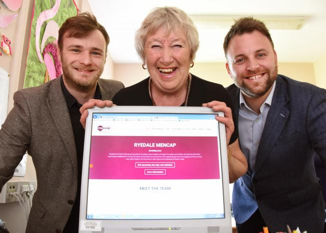 Ryedale and District Mencap has launched a new website.